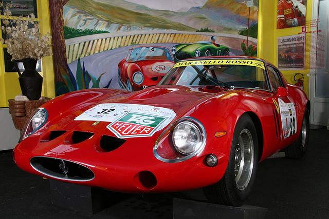 Ferrari 250GT - 3851GT - Museo Maranello Rosso - San Marino 2012 - Immagine di Turismo Emilia Romagna