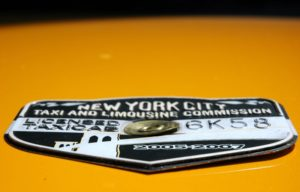 New York Cab Medallion