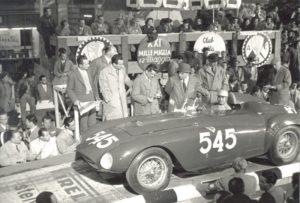 Ferrari 375+ #0384/AM - Partenza della Mille Miglia