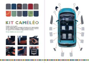 Immagine del kit Cameleo per peugeot 1007