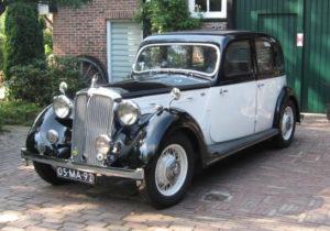 Rover 16 P2 - Sedan - 1938