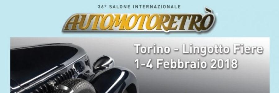 <b>Automotoretrò – L'auto classica in fiera al Lingotto</b>