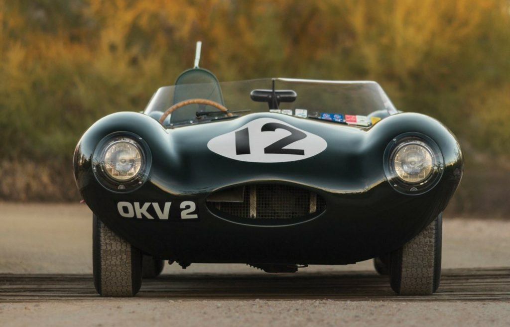 Jaguar D-Type Wors 1954