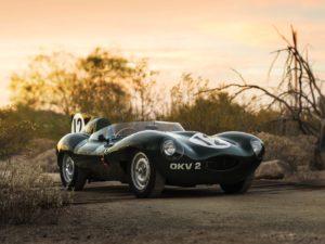 Jaguar D-Type OKV2 - Immagine RMSotheby's