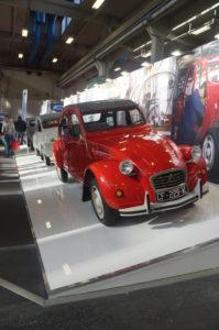Club Citroen 2CV Italia - Le 3 2CV esposte