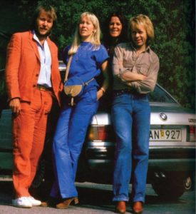 BMW 633 CSi e gli ABBA