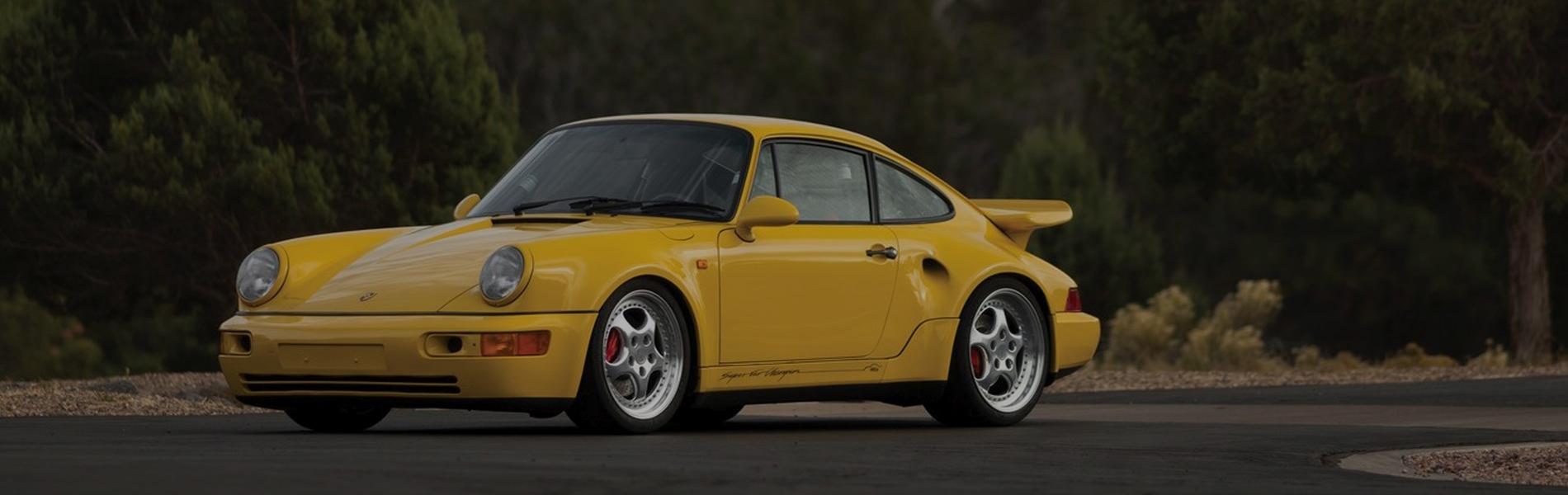 """Porsche 911 Turbo S """"leggera"""""""