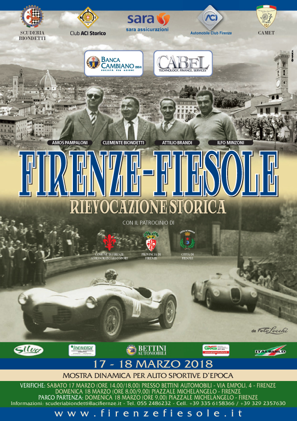 Locandina - Firenze Fiesole 2018
