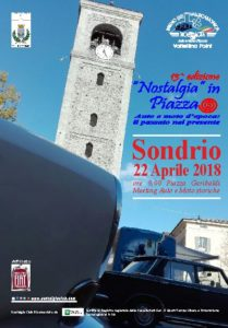 Locandina Nostalgia in piazza 2018