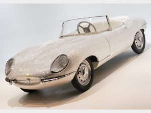 Jaguar E-Type giocattolo Swarovski