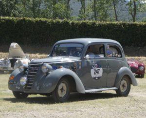 Fiat 1100 E (1952) - Mille Miglia