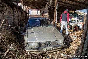 Alfa Romeo 75 recuperata da Davide Cironi