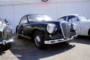 Lancia Aurelia D50 Stabilimenti Farina
