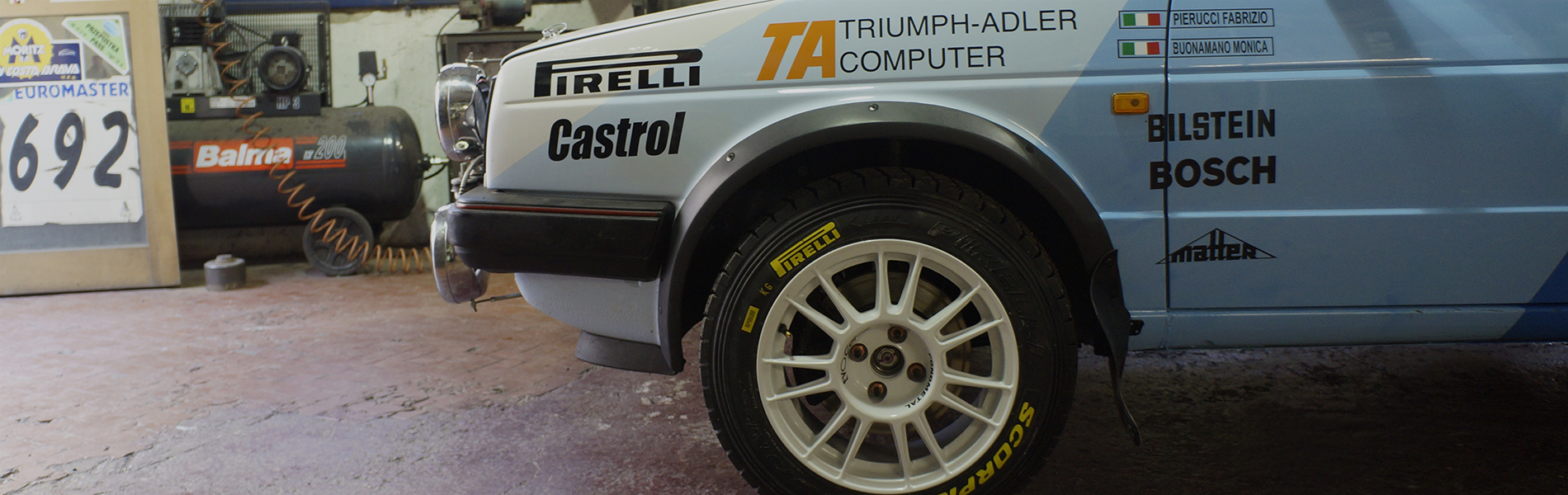 Copertina - Romei Sport Team Historic - VW Golf GTI