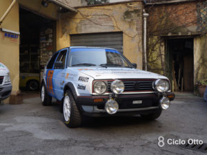 Volkswagen Golf GTI Triumph Adler Computers - Romei Sport Team Historic