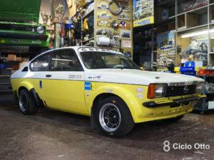 Opel Kadett GT/E Carenini - Romei Sport Team Historic