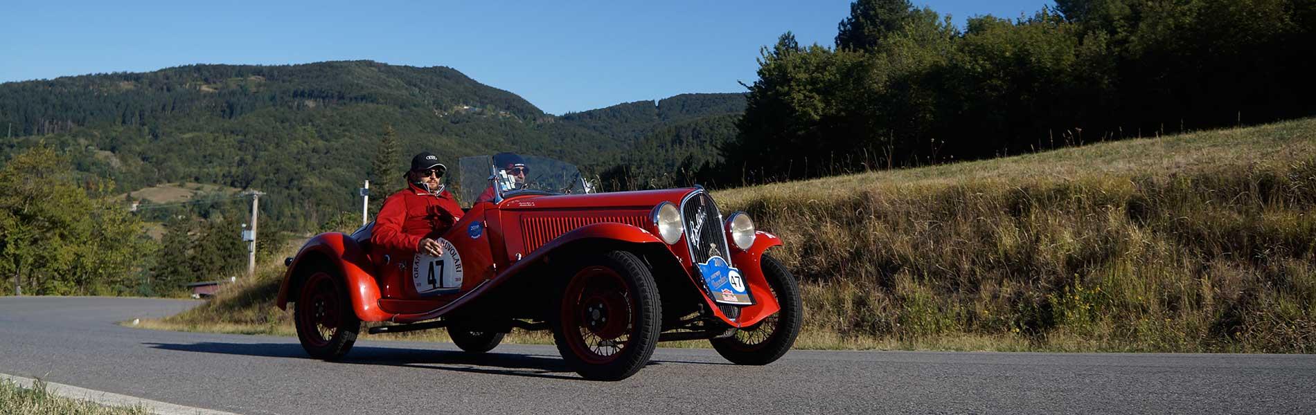 Fiat 508 S Balilla Coppa Oro 1933 - #47 - Gran Premio Nuvolari 2019