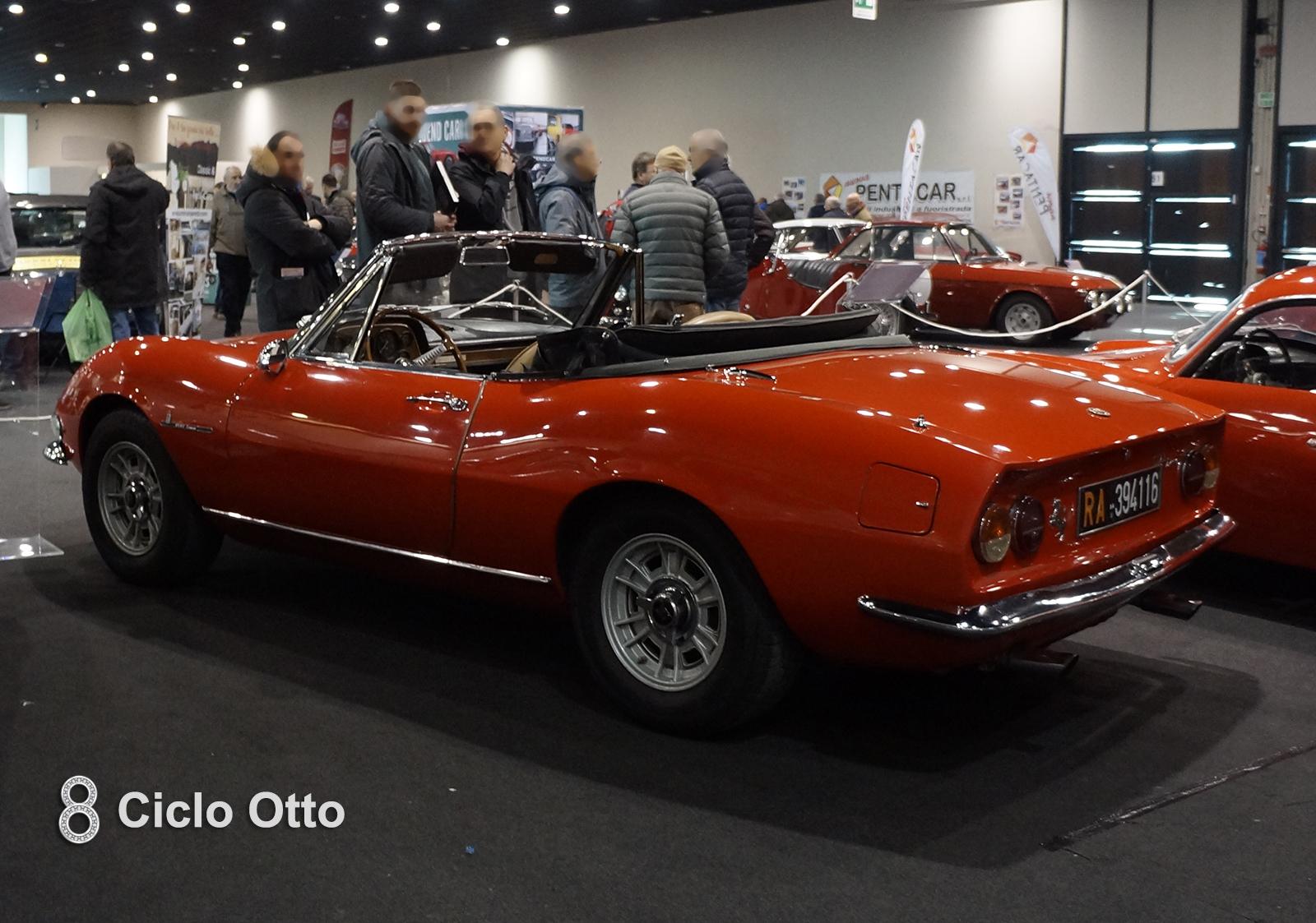 Fiat Dino Spider 2000 -1968 - Arezzo Classic Motors 2019