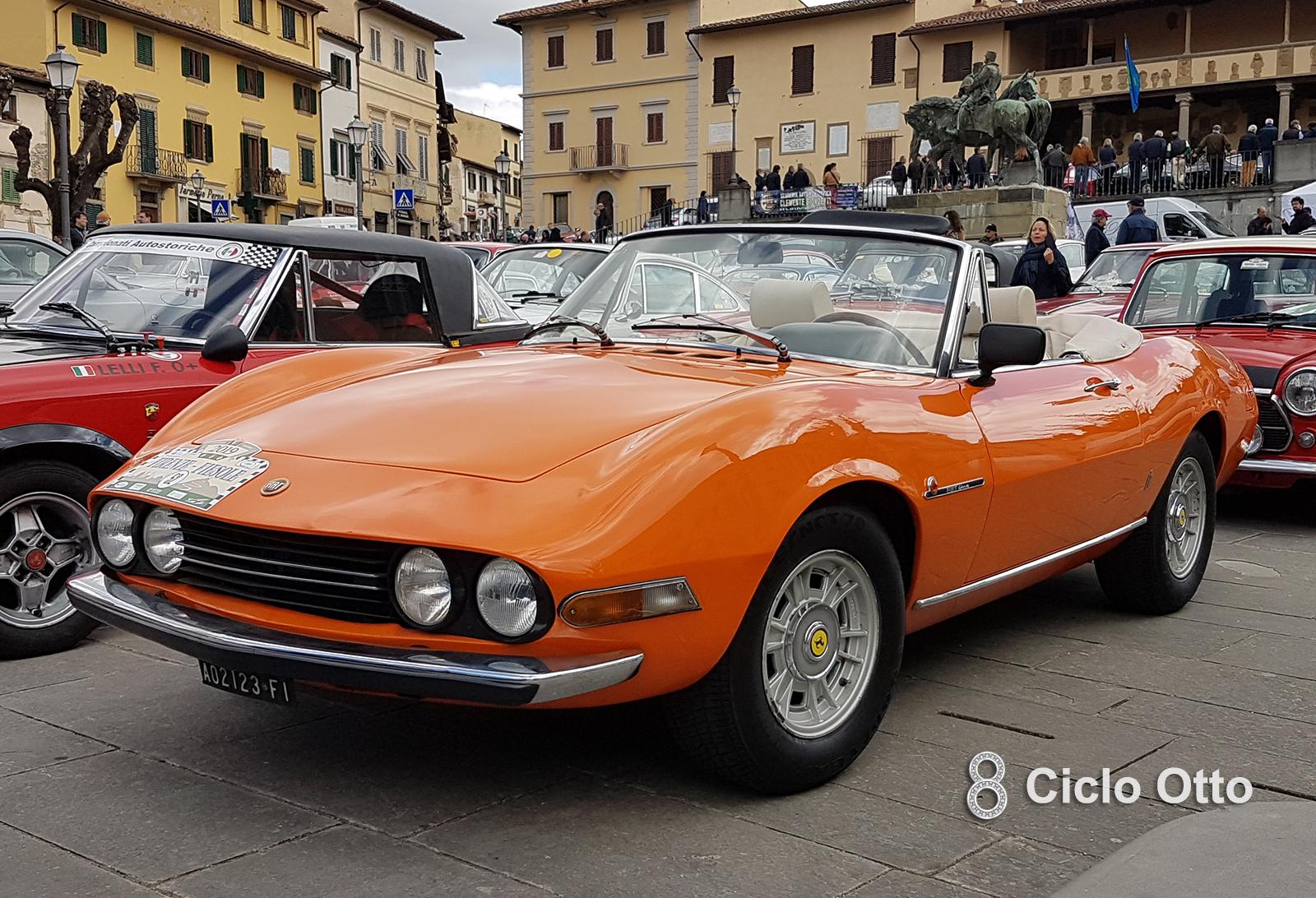 Fiat Dino Spider 2000 - Firenze-Fiesole 2019