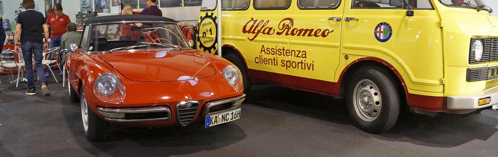 Alfa Romeo Duetto Spider - Auto e Moto Epoca, Padova-2018