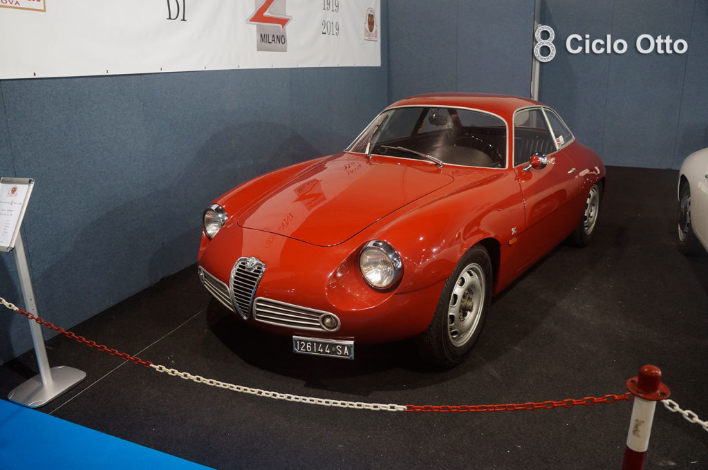 Alfa Romeo Giulietta SZ Zagato - Stand VCC Padova