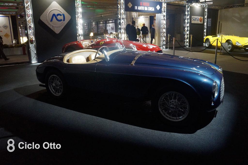 """Ferrari 166 MM Ex-Agnelli - Esposizione """"le Rosse in abito da corsa"""""""