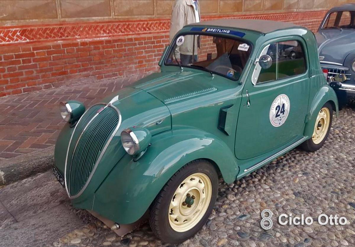 Fiat 500 A Topolino - Trofeo Milano - CMAE