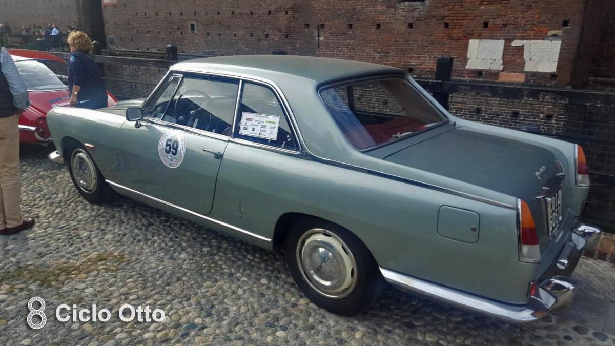 Lancia Flaminia Coupe Pininfarina - Trofeo Milano 2019
