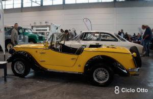 Siata 850 Spring 1968 - Verona Legend Cars 2019