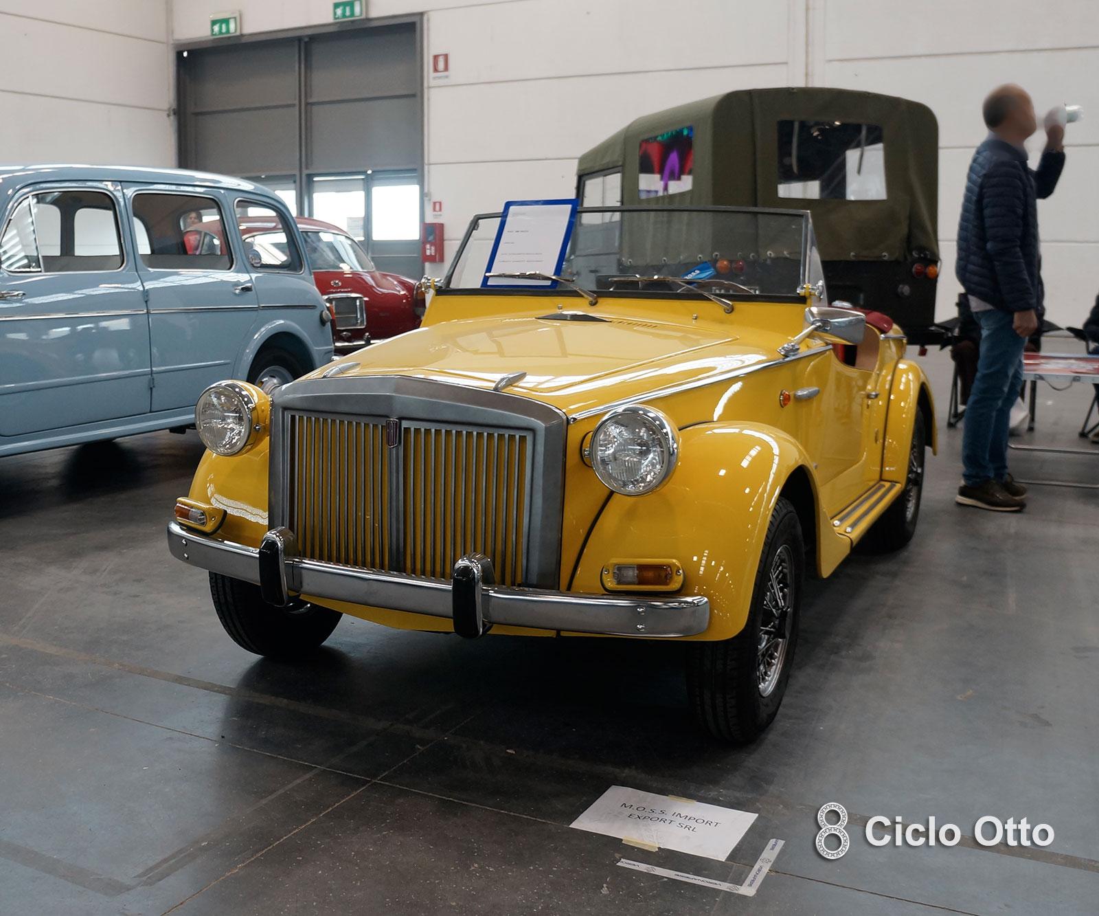 Siata 850 Spring 1967 - Verona Legend Cars 2019