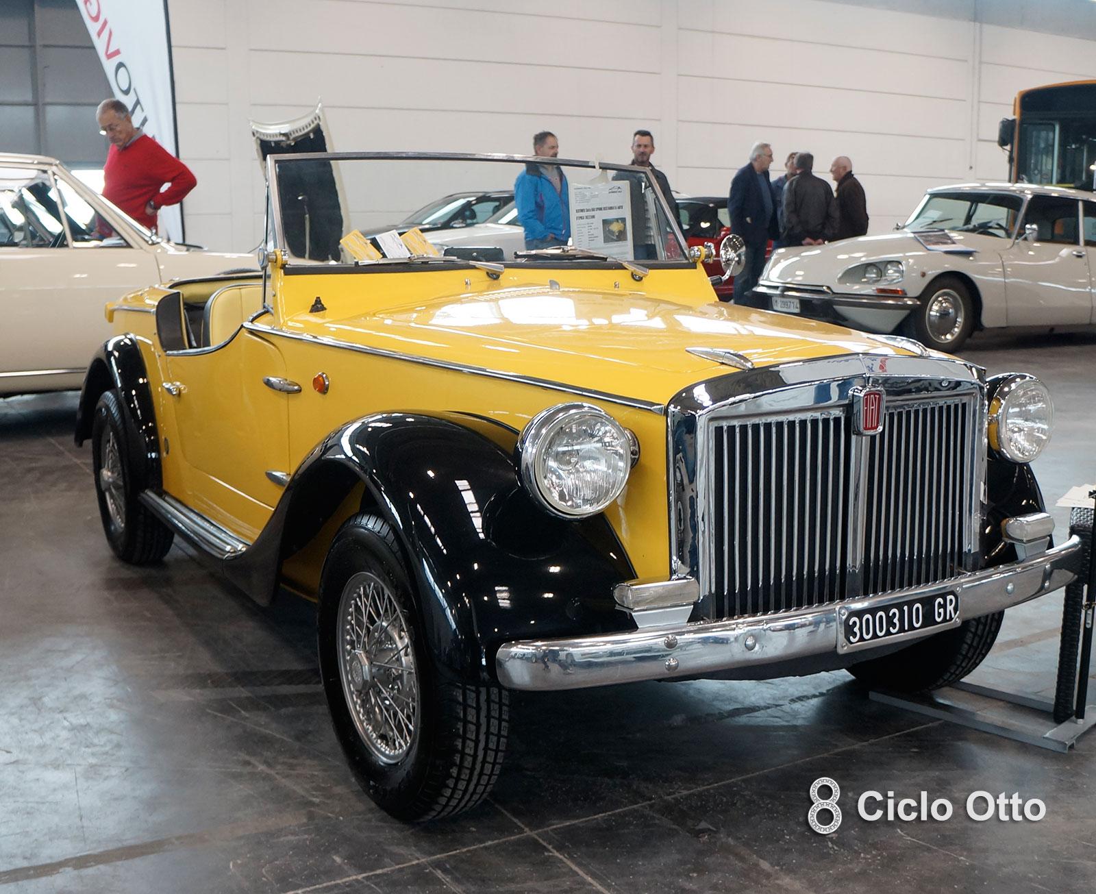 Siata 850 Spring - 1968 - Verona Legend Cars 2019