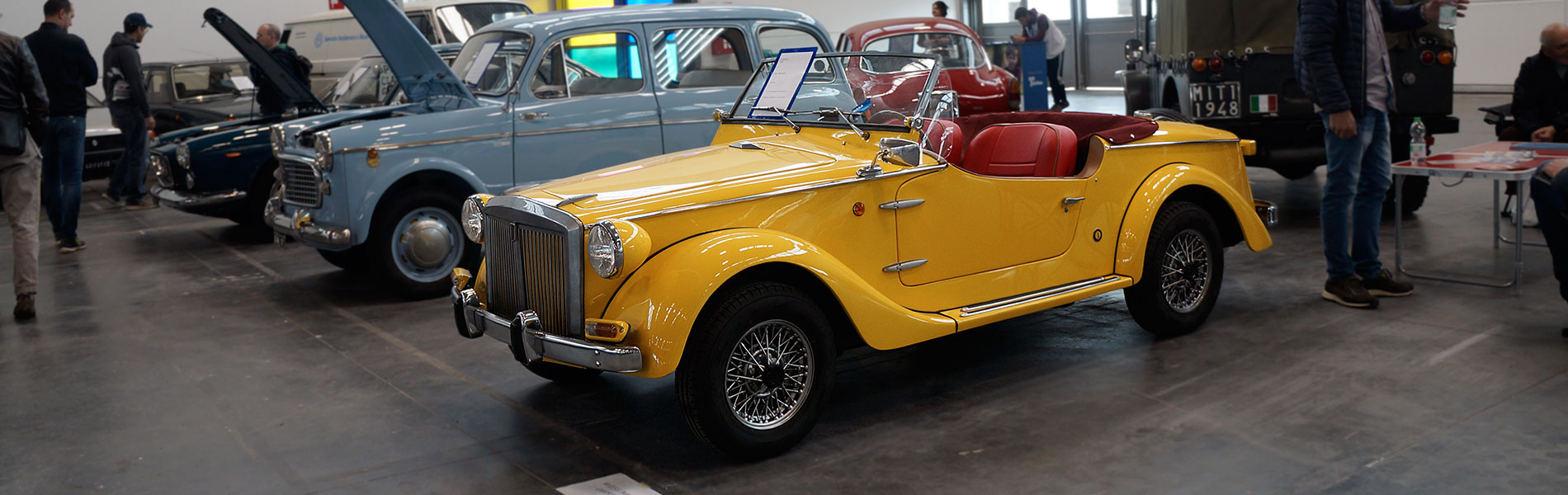 Siata 850 Spring - Anno 1967 - Verona Legend Cars 2019