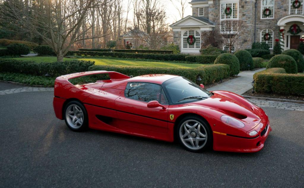 Ferrari F50 Prototipo - Immagini da Wordwide Auctioneers