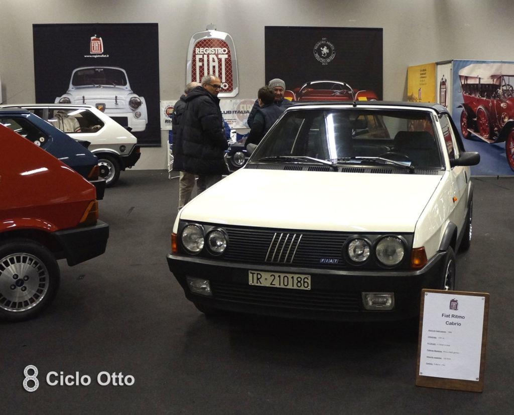 Registro Fiat Italiano - Le Fiat Ritmo dell'edizione 2019