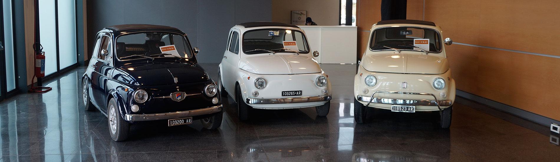 Fiat 500 - Arezzo Classic Motors 2018
