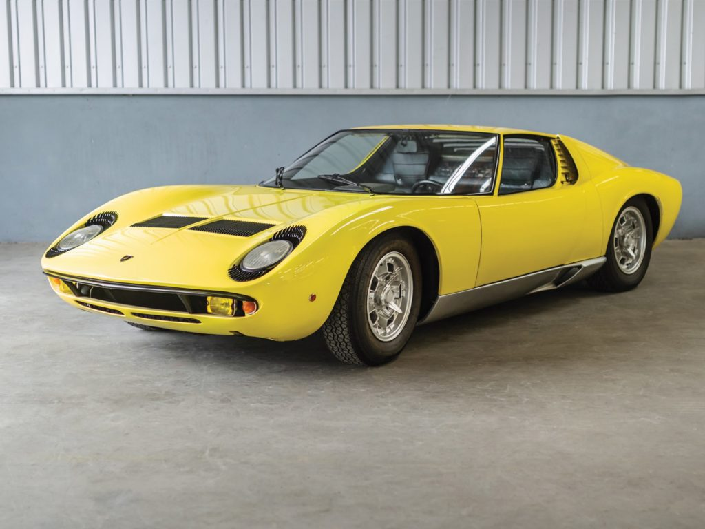 Lamborghini Miura P400S - The Petitjean Collection - Immagini RM Sotheby's