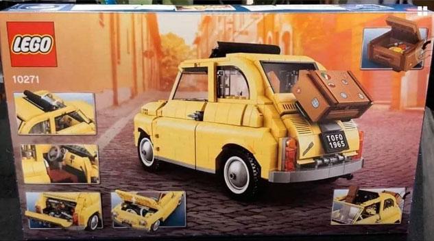 Lego Creator Expert 10271 - Fiat 500 - Retro