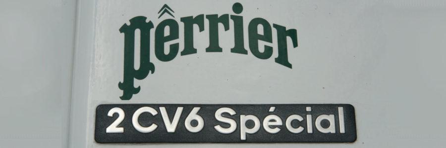 """Citroën 2CV Perrier – Serie speciale con le """"bollicine"""""""