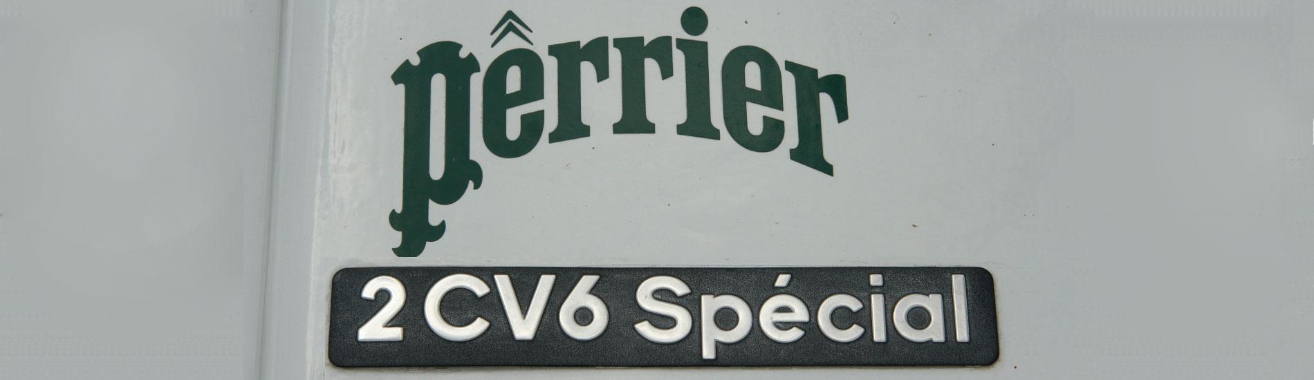 Citroen 2CV Perrier