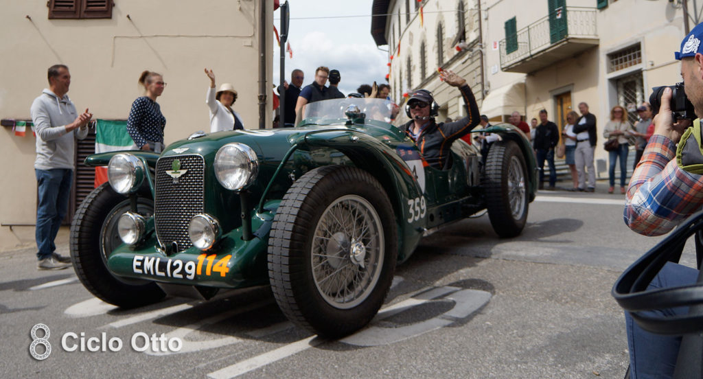 Aston Martin Speed Spa Special - 1929 - Mille Miglia 2019 (c) Ciclootto