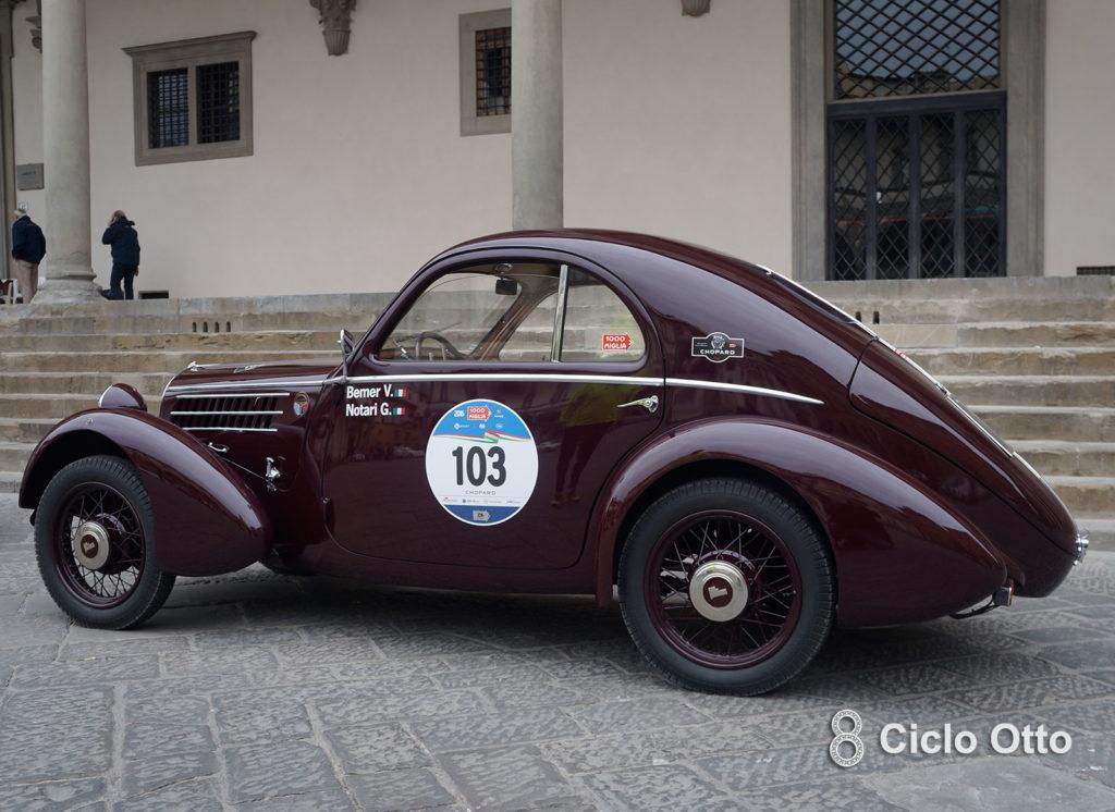 """Fiat 508 CS Balilla Berlinetta Aerodinamica """"Mille Miglia"""""""