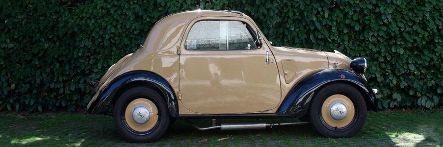 Monograms: Fiat 500 A Topolino