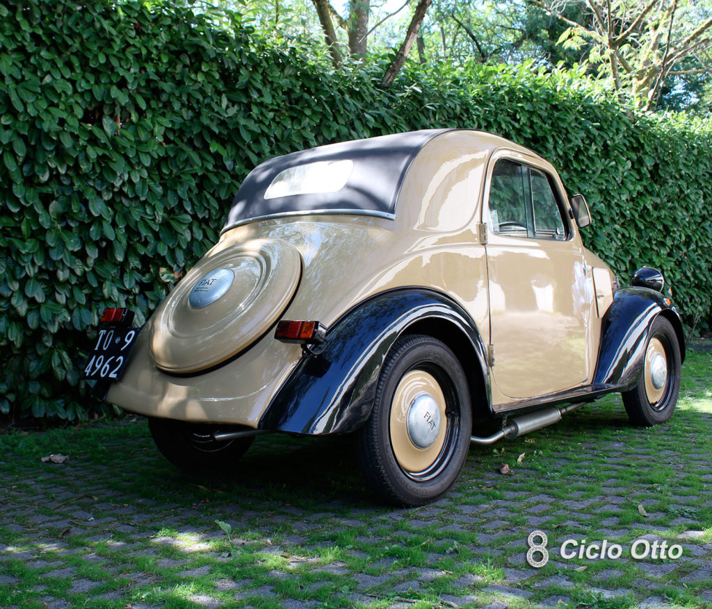 Fiat 500A Topolino 1937