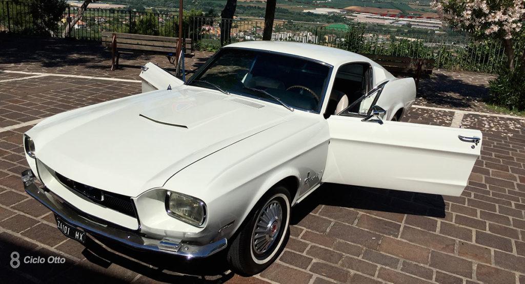 Ford Mustang Zagato in Bianco Wimbledon - Immagine di Fabio Di Pasquale