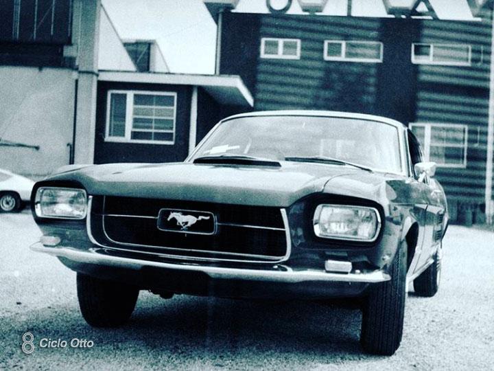 Ford Mustang Zagato presso lo stabilimento Zagato (1967) - Immagini di Fabio Di Pasquale