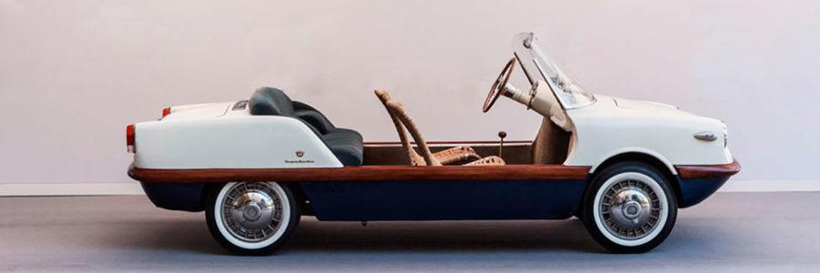 La spiaggina: l'auto con l'estate in testa