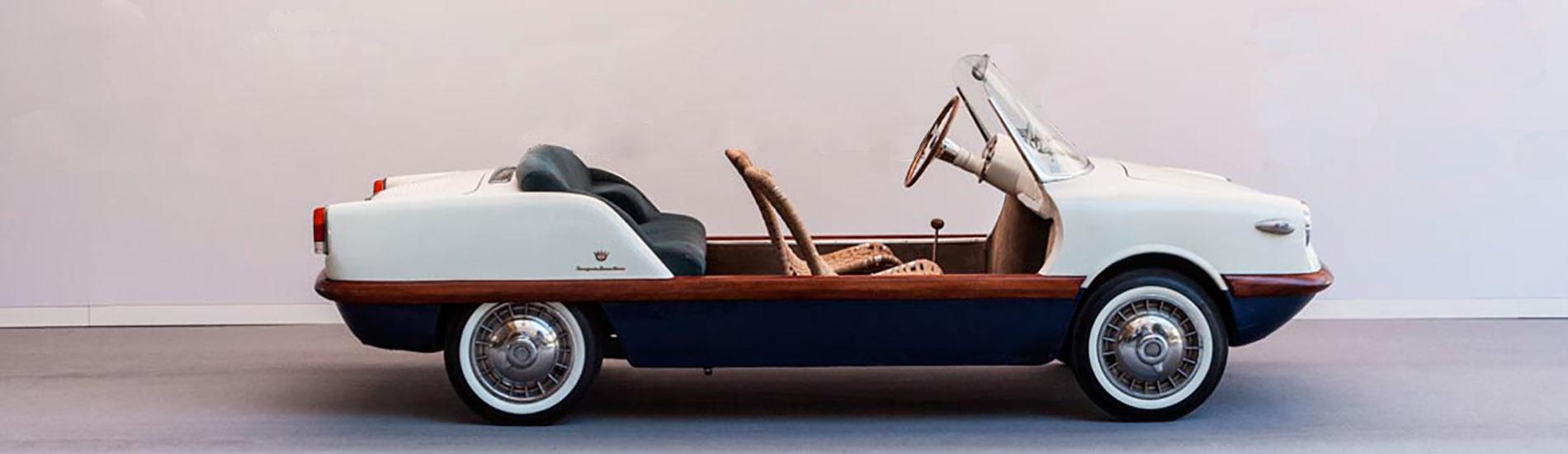 Fiat 500 Spiaggia Boano - Immagine Auto Classic