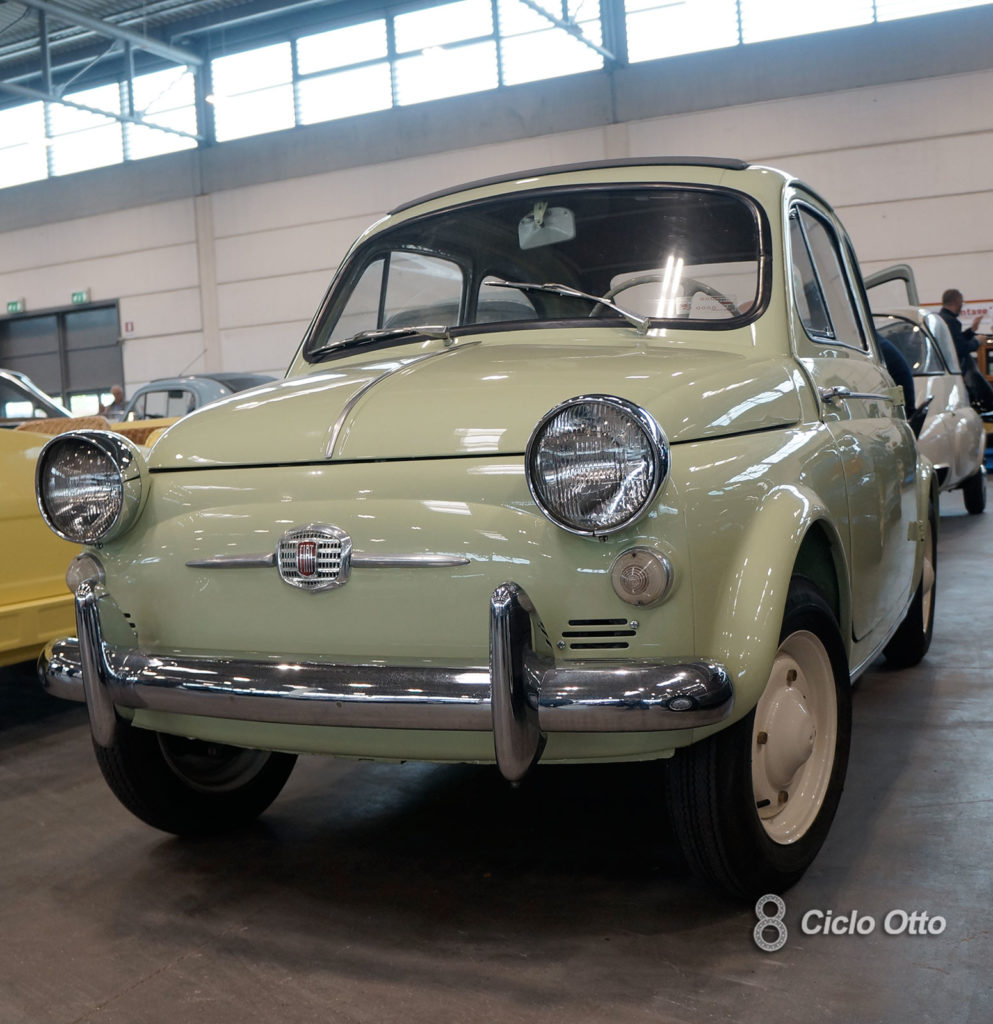 Fiat 500 America Trasformabile - Verona Legend Cars 2019 - Immagine (c) Ciclootto.it