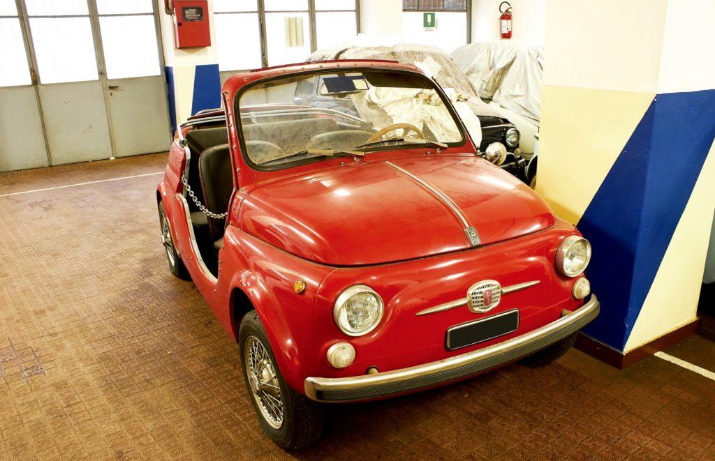 Fiat 500 Trasformata Spider - Asta Bolaffi