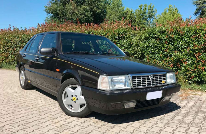 Lancia Thema 8.32 - Prima Serie - Nero Metallizzato. Immagine Gulfblue.it